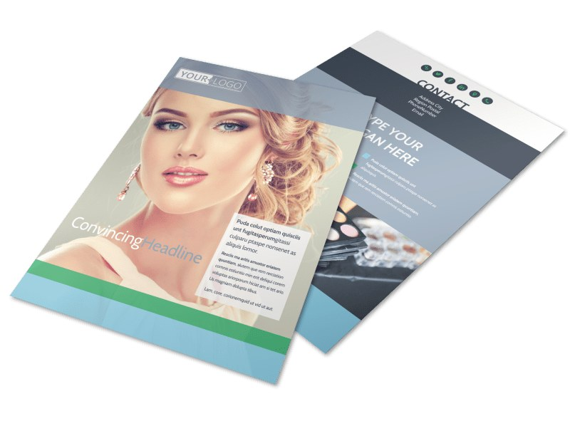 Makeup & Cosmetics Flyer Template Preview 4
