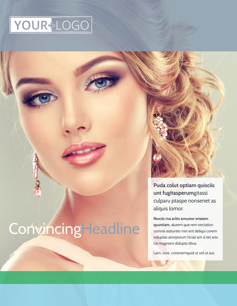 Makeup & Cosmetics Flyer Template Preview 2