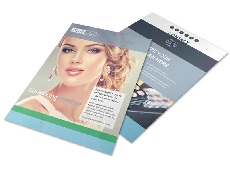 Makeup & Cosmetics Flyer Template Preview 1