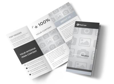 Generic Tri-Fold Brochure Template 8876