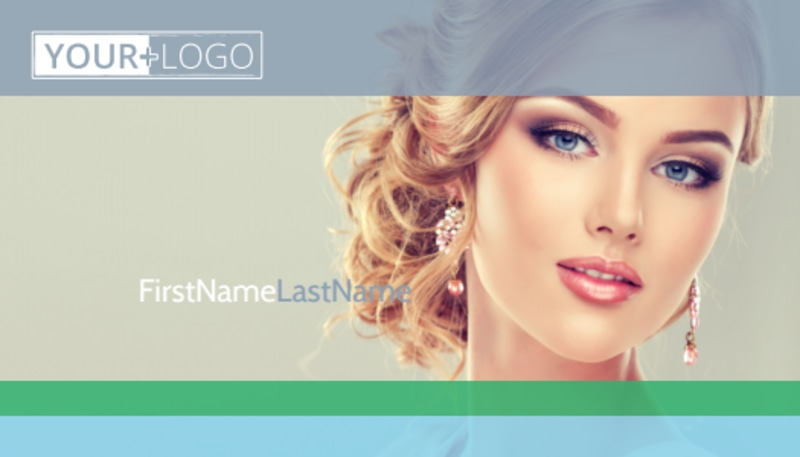 Makeup & Cosmetics Business Card Template Preview 2