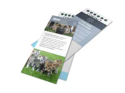 Animal Charities Flyer Template 2
