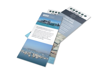 Marine Insurance Flyer Template 2
