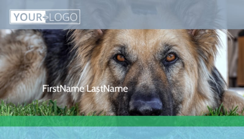 Animal Charities Business Card Template Preview 2