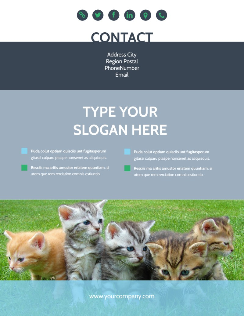 Animal Charities Flyer Template Preview 3