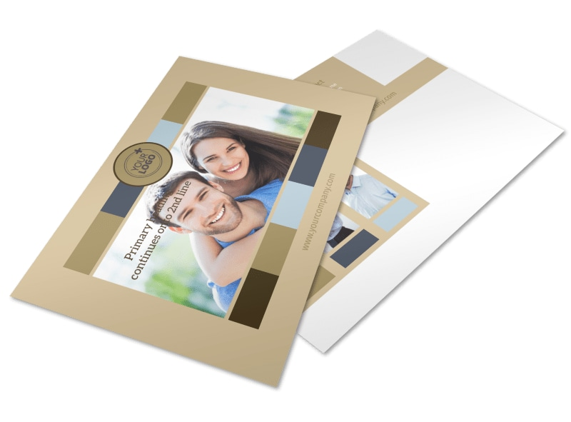 Marriage Counseling Postcard Template 2