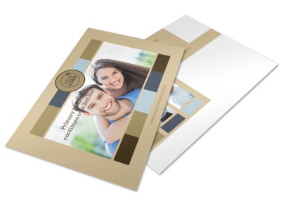 Marriage Counseling Postcard Template 2 preview