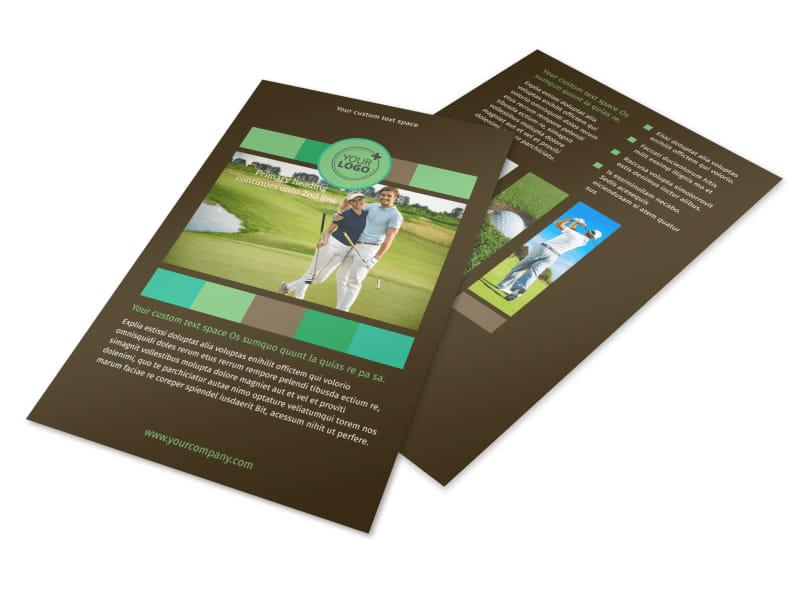 Golf Tournament Flyer Template MyCreativeShop