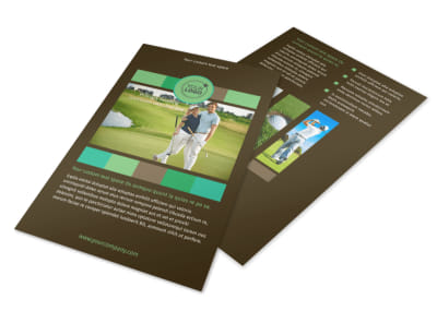 Golf Tournament Flyer Template 3