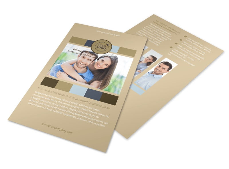 Marriage Counseling Flyer Template 3