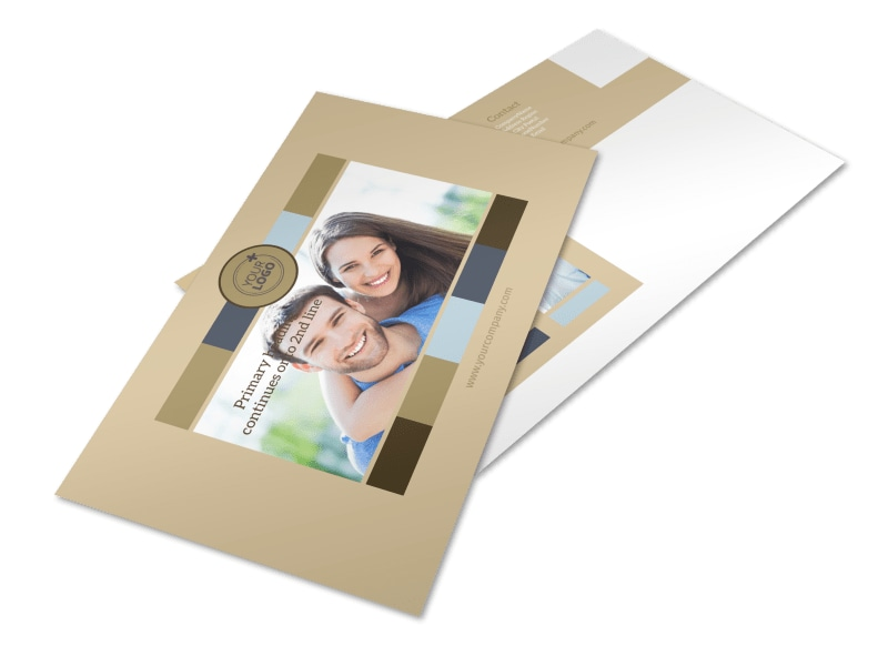 Marriage Counseling Postcard Template
