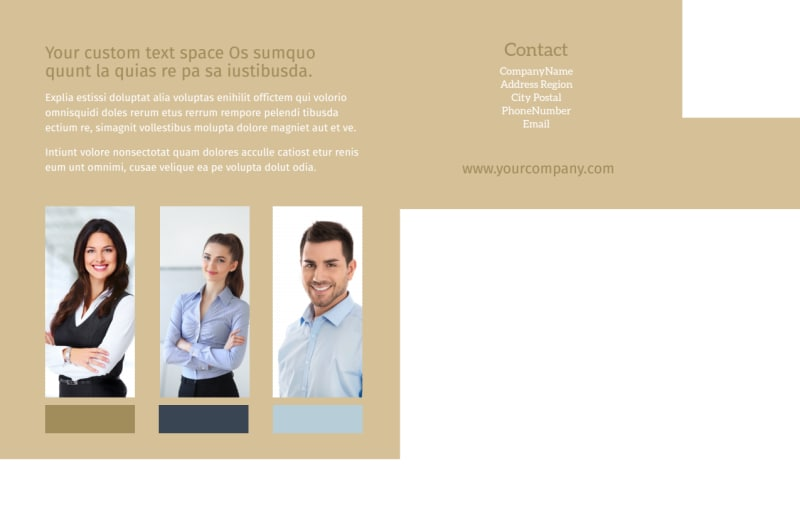 Marriage Counseling Postcard Template Preview 3