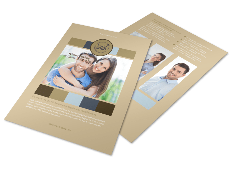 Marriage Counseling Flyer Template Preview 1