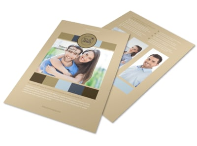 Marriage Counseling Flyer Template preview