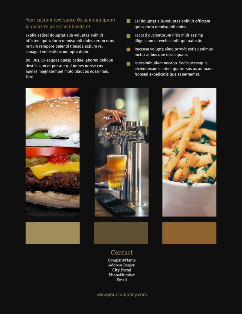 Brew Pub Flyer Template Preview 3