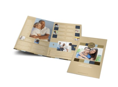 Marriage Counseling Bi-Fold Brochure Template preview