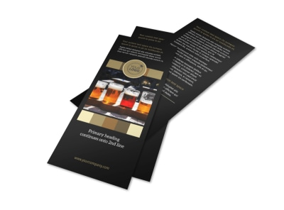 Brew Pub Flyer Template 2 preview