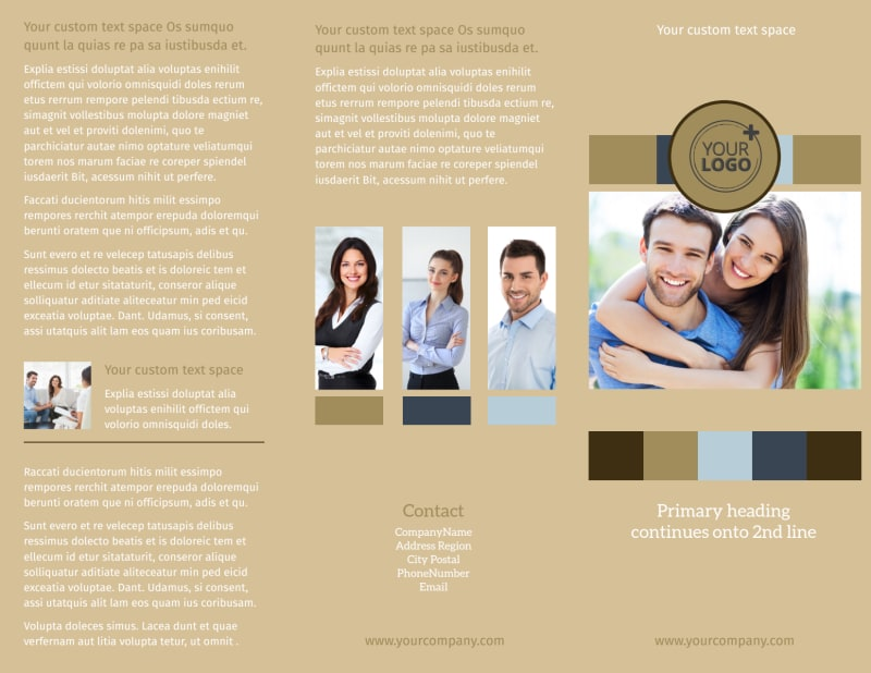Marriage Counseling Brochure Template Preview 2
