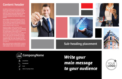 Full Service Property Management Brochure Template Preview 1