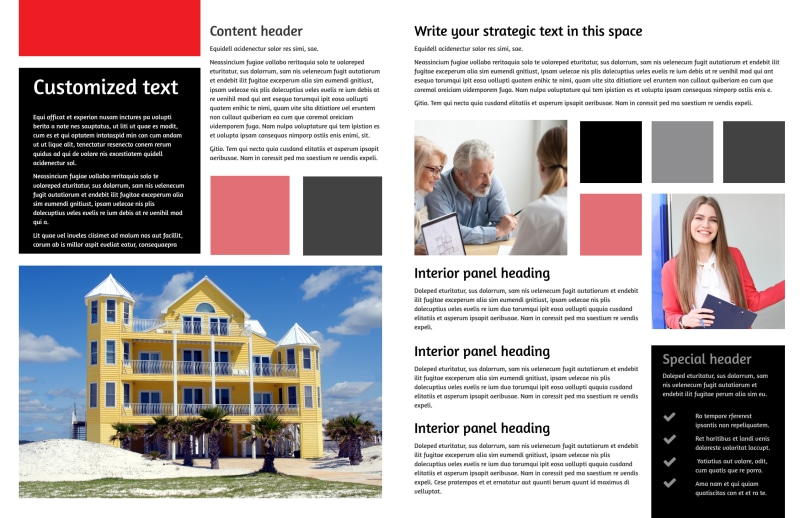 Full Service Property Management Brochure Template Preview 3