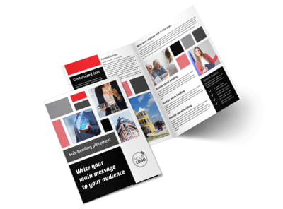 Full Service Property Management Bi-Fold Brochure Template 2 preview