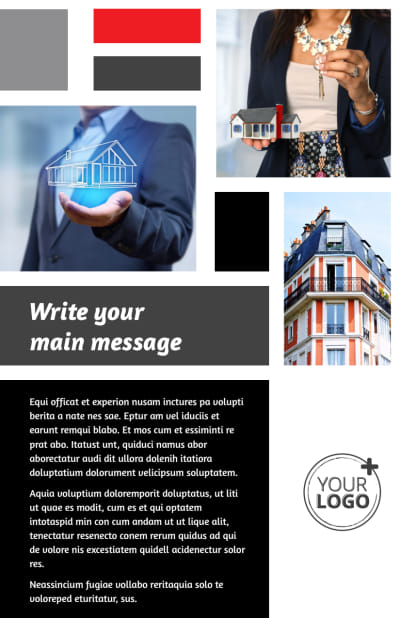Full Service Property Management Flyer Template Preview 1