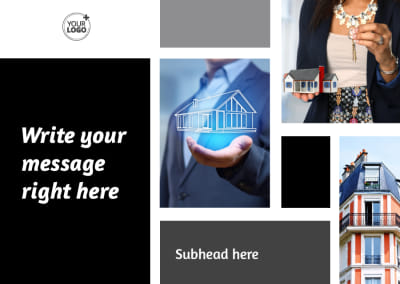 Full Service Property Management Postcard Template Preview 1