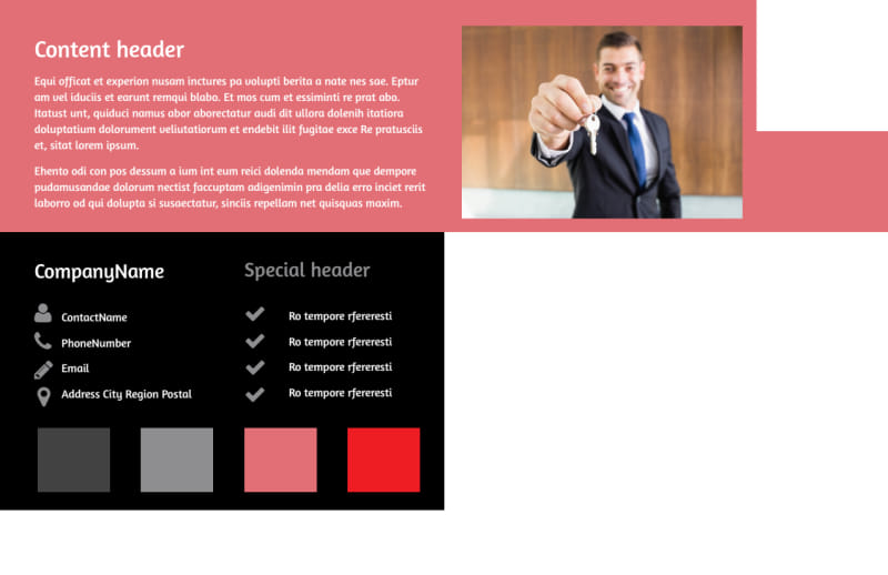 Full Service Property Management Postcard Template Preview 3