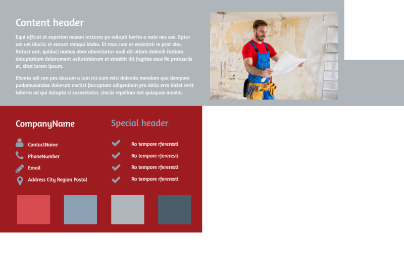 Remodeling Contractor Postcard Template Preview 3