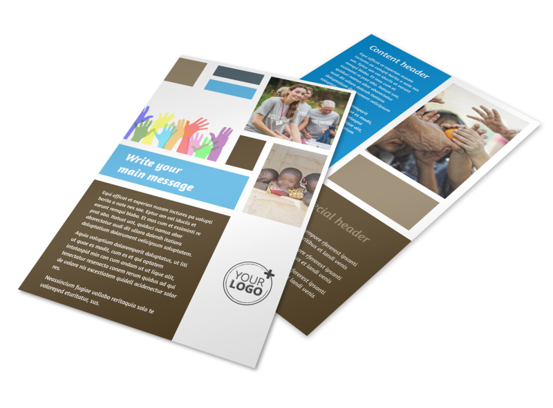 Food Pantry Flyer Template 3