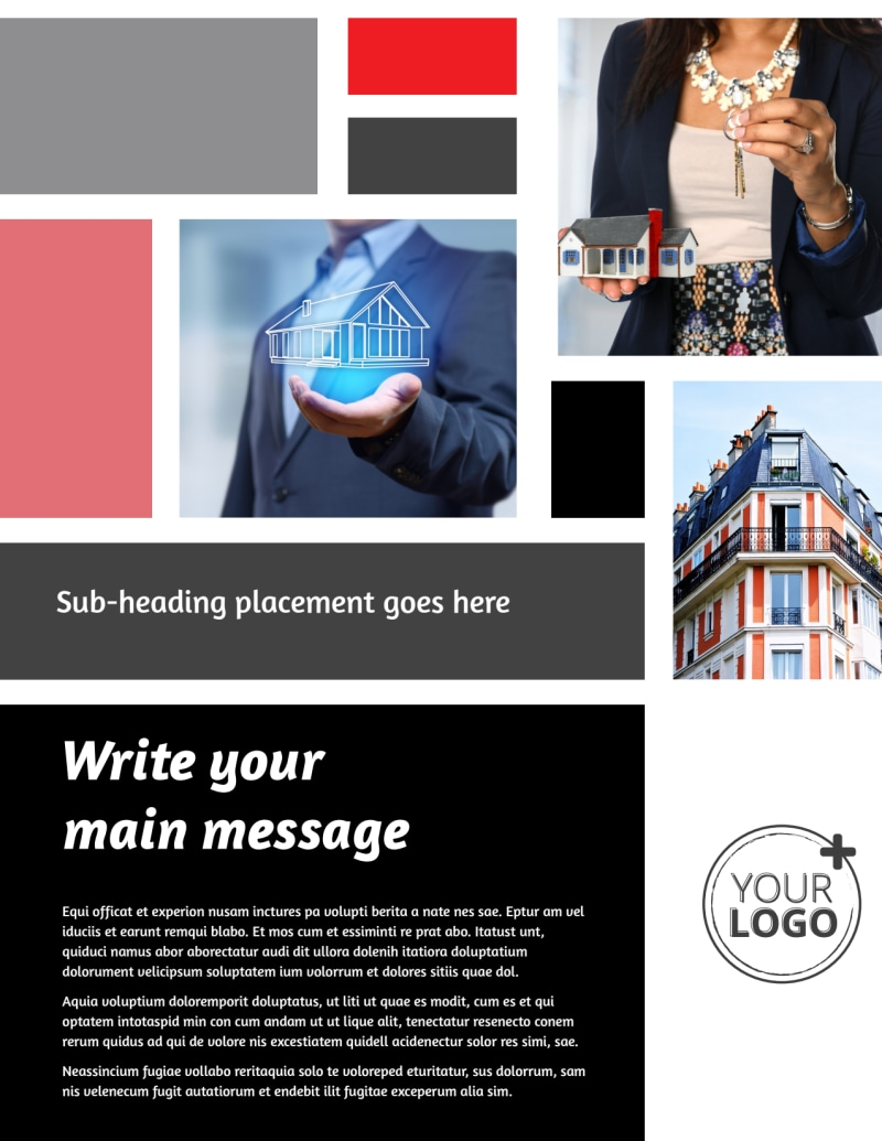 Full Service Property Management Flyer Template Preview 2