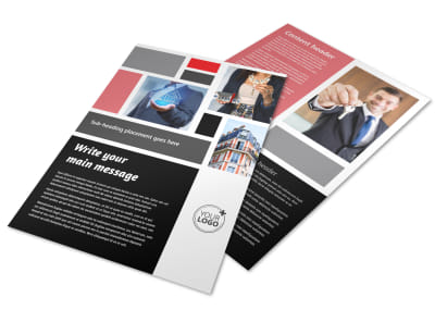 Full Service Property Management Flyer Template preview