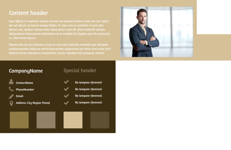 Lawyer Law firm Postcard Template Preview 3