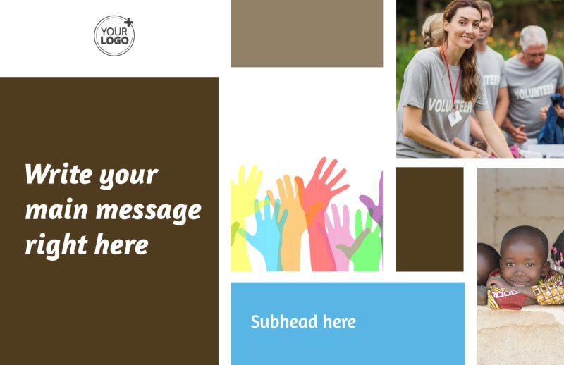 Food Pantry Postcard Template Preview 2