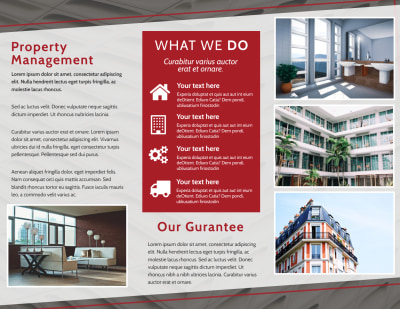 Full Service Property Management Brochure Template Preview 2