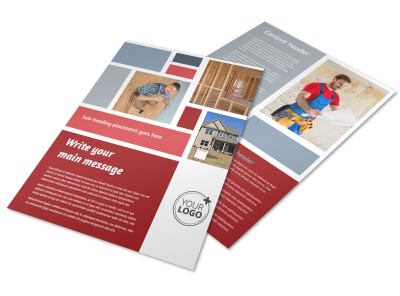 Home Remodeling Flyer Template
