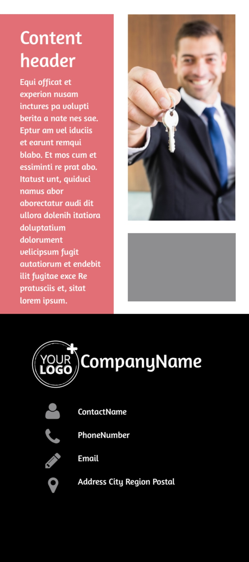 Full Service Property Management Flyer Template Preview 3