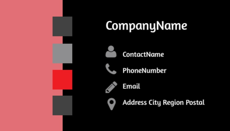 Full Service Property Management Business Card Template Preview 3