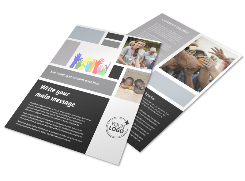 Food Pantry Flyer Template Preview 1