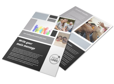 Food Pantry Flyer Template