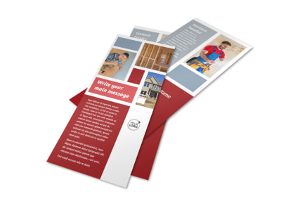 Home Remodeling Flyer Template 2