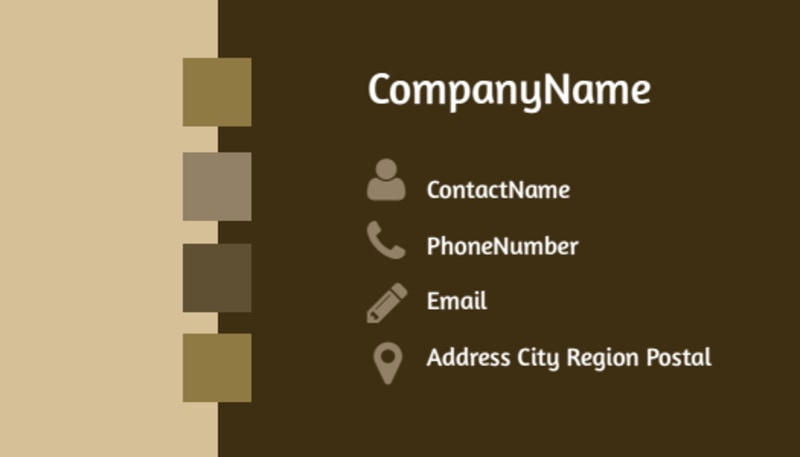 Lawyer Law firm Business Card Template Preview 3