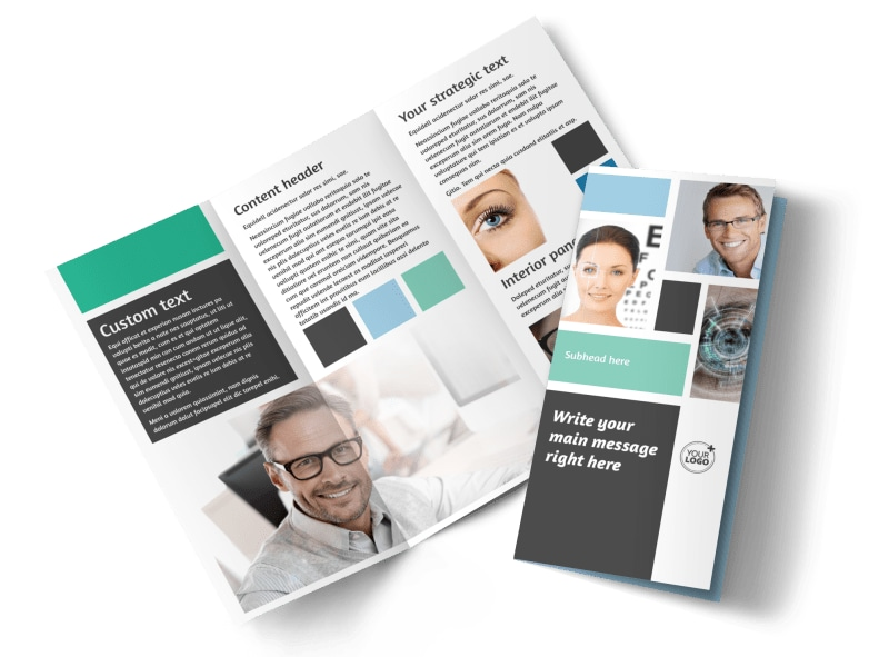 Laser Vision Brochure Template Preview 4