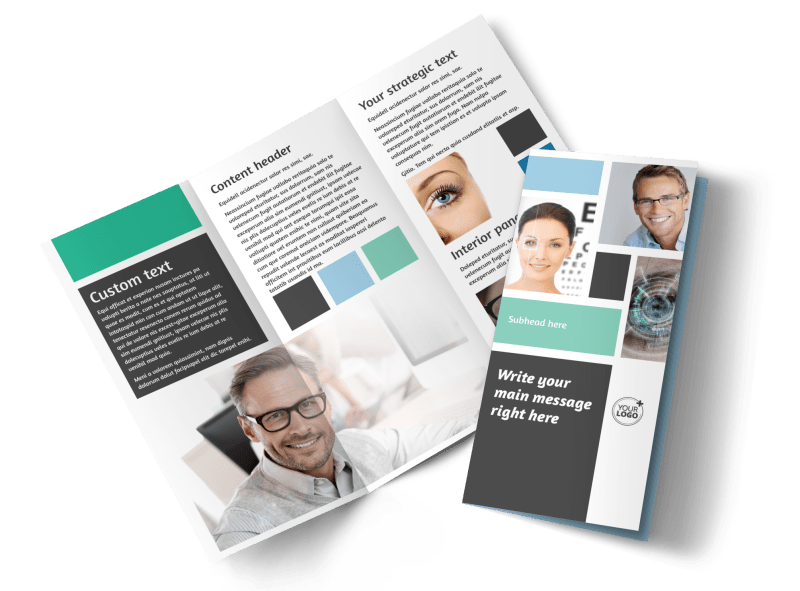 Laser Vision Brochure Template Preview 1