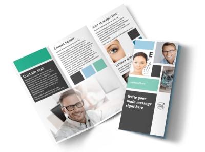 Laser Vision Tri-Fold Brochure Template