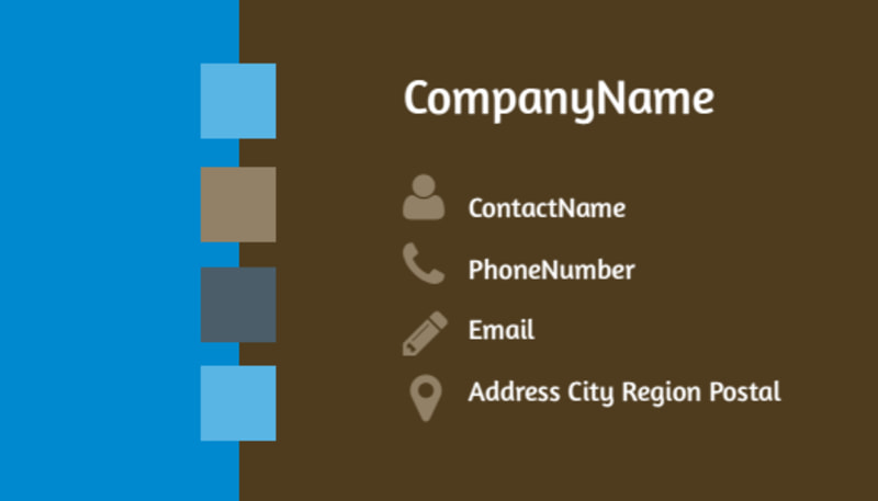 Food Pantry Business Card Template Preview 3