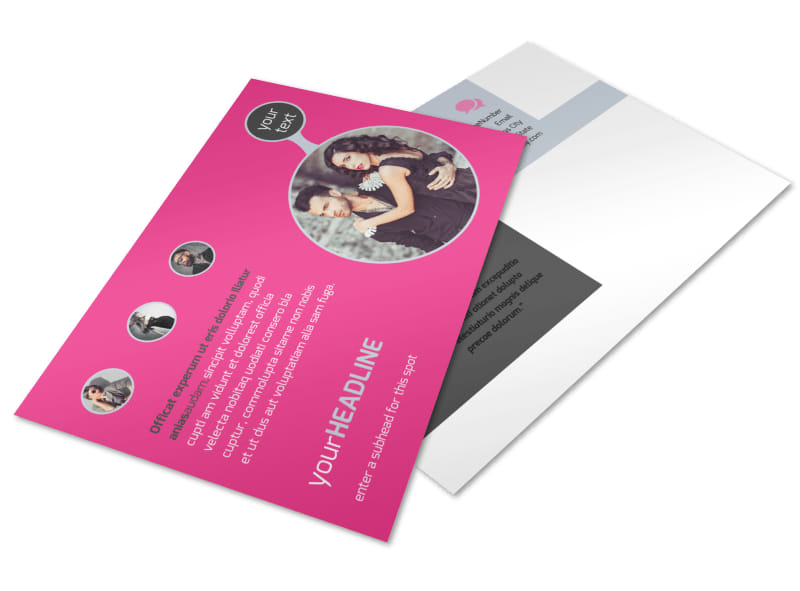 Fashion Photography Postcard Template 2