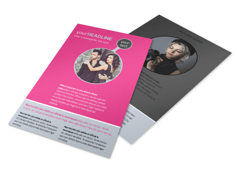 Fashion Photography Flyer Template 3