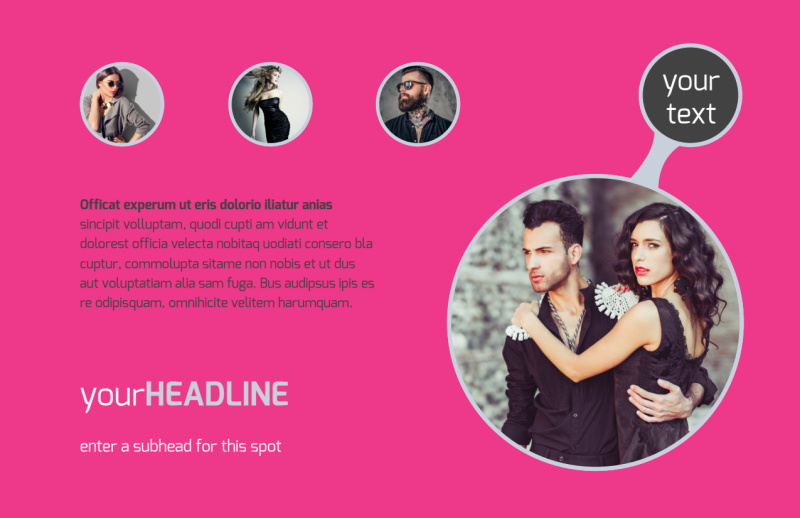 Fashion Photography Postcard Template Preview 2