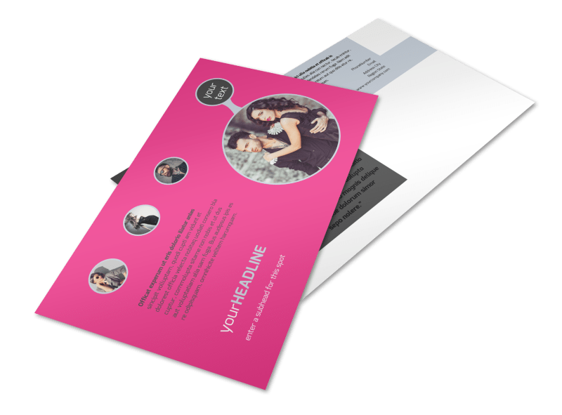 Fashion Photography Postcard Template Preview 1